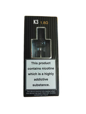 100% Authentic ASPIRE K3 E CIG VAPE CLEAROMIZER TANK