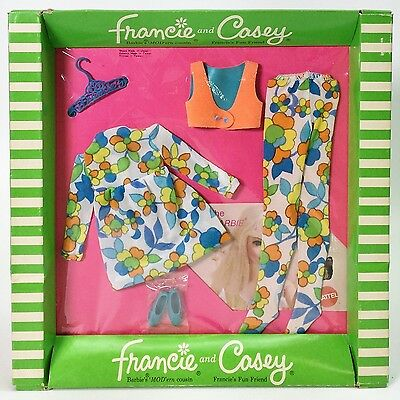 Vintage 1969 Fashions For Francie & Casey Bloom Zoom #1239 Nrfp