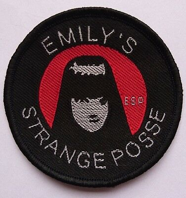 Emily the Strange patch Sew on emo goth patch badge