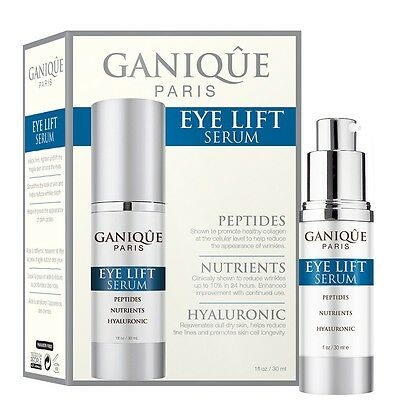 GANIQUE Paris Eye Lift Serum 1 fl oz / 30 ml -  NIB & Sealed