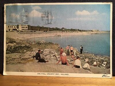 Postcard Of Salthill, Galway Bay, Ireland