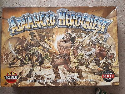 Advanced Heroquest 1989 Games Workshop Boxed & Complete Very Good Condition