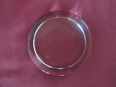 Large Round Glass Paperweight for Mounting Crafts or Pictures 9cm Across