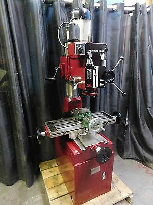 Milling Machine,Import Geared Vertical Mill,Not Rockwell/Clausing Built 2013+/-