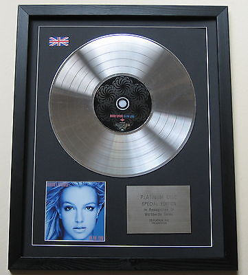 BRITNEY SPEARS In The Zone CD / PLATINUM LP DISC Presentation