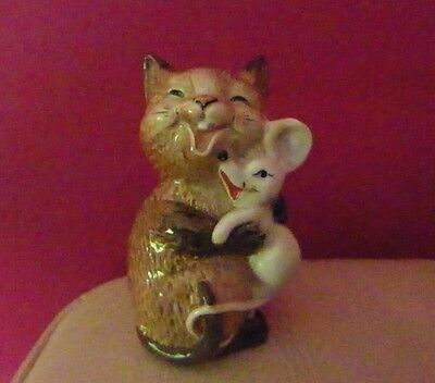 Vintage Beswick Cat With Mouse Model Number 2100 - Perfect !!