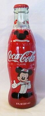 Coca-Cola Celebrate MICKEY 75 InspEARations COKE Bottle Disney Mouse Limited Ed