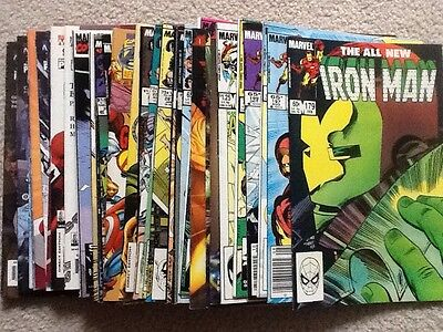 Huge lot Avengers Iron Man Captain America 50 issues! 1980s to 2000s Fine