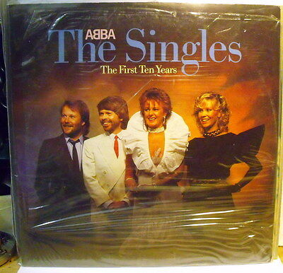 ABBA - THE SINGLES The First Ten Years -  2 LP Sealed