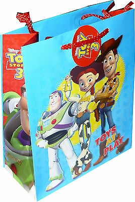 Toy Story 3 Gift Paper Party Bags Medium Size (Pack Of 6 Bags) Disney Pixar