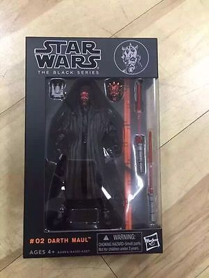 "New Star wars the Black Series 6"" Darth Maul Pvc Action Figure Toy"