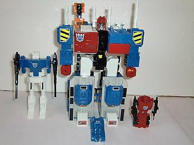 Transformers G1 Zone Micromaster Metrotitan Custom MIB