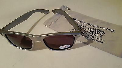 Pair of 50 Shades of Grey Sunglasses with Bags! Promo Glasses