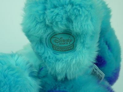 SULLY/Sulley 30cm MONSTERS INC. Disney Store Exclusive. Soft Plush Cuddly Toys