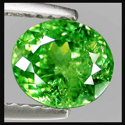 1.35Cts Hi-End Sparkling Flawless Gem - Natural Russian Emerald Chrome DIOPSIDE