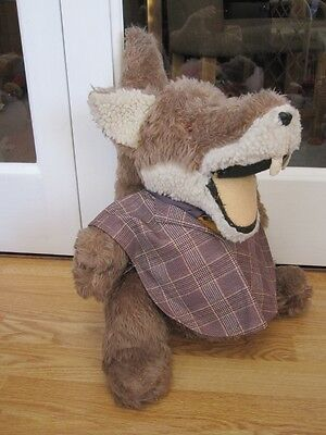 "Vintage Basil Brush Very Large Chunky 15"" Soft Toy Very Old"