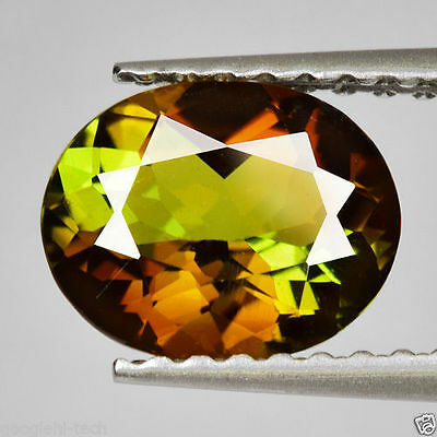 1.04Cts SPECTACULAR Gem - Amazing Multi-Color Sparkling Natural ANDALUSITE LK148