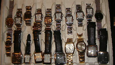 Trade Only Job Lot Of 20 X  Mixed  Amadeus  Watches 100% Gen .