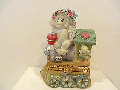 "Dreamsicles ""christmas Train""  Trinket Box"