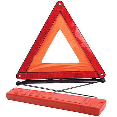 Reflective Warning Sign Fordable Triangle Car Hazard Breakdown Eu Emergency