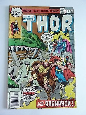 Marvel - The Mighty Thor December 1978 No. 278