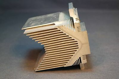 1.45 Lb 4.5 x 3 Inch Quality Natural Aluminum Heatsink Great for all Devices