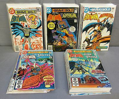 BRAVE AND THE BOLD #150-199 (Full Run 1979 to 1983) High Grade DC Comics Batman