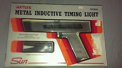 Sun Inductive Timing Light Cp 7515 Automotive Distributor Ignition Tool Mint!
