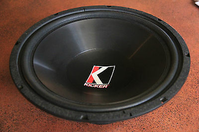 """Kicker C15a 15""""  sub woofer, 4 ohm driver subwoofer car stereo"""