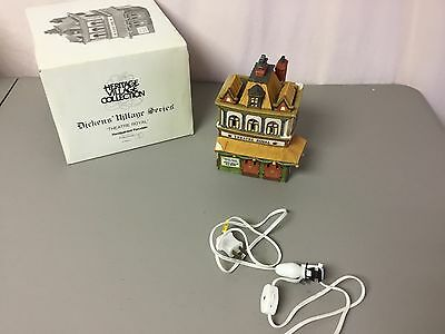 """Department 56 Dickens Village Series Lighted  """"Theatre Royal"""" #532Z"""