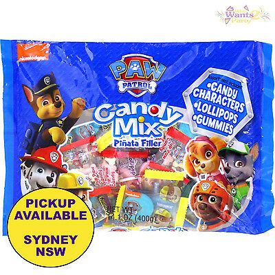 Paw Patrol Birthday Party Supplies Pinata Loot Bag Filler Candy Lollies Favours