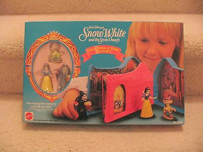 Disney Snow White ONCE UPON A TIME Playset Mattel NIB