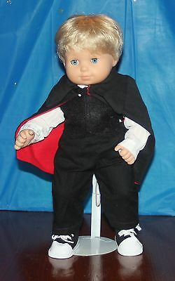 Count Dracula  Costume for Bitty Baby or Bitty Twin