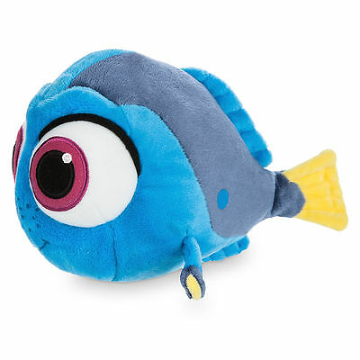 NWT Disney Store Authentic Finding Dory Movie BABY DORY Plush Mini Bean Bag - 8""