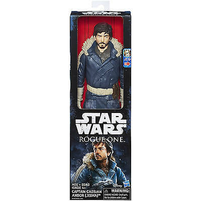 Stars Wars ROGUE ONE CAPTAIN CASSIAN ANDOR (JEDHA) 12 Inch Action Figure NIB