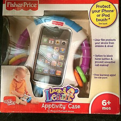 Fisher Price Laugh & Learn Apptivity Case iPhone or iPod NEW 6+ months