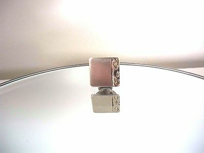 Irish Sterling Silver Tie Pin / Brooch Pin With Dublin Hallmarks And Makers Mark