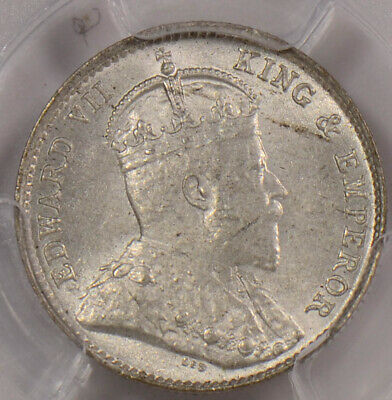 PC0102 Hong Kong 1905 H 5 Cents PCGS MS 63 combine shipping