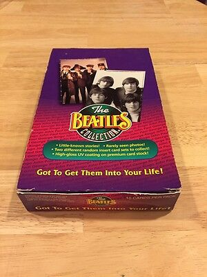 The Beatles Collection Card Wax Box Sealed Unopened Packs 1993 River Group