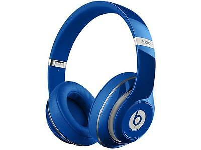 Beats by Dr. Dre Studio 2.0 Wired Over-Ear Headphone (Blue) - A Grade Recertifie