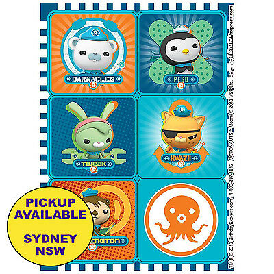 Octonauts Birthday Party Supplies 24 Stickers Loot Bag Favours