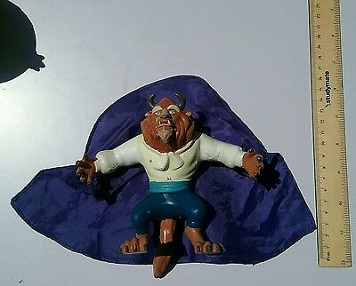 Vintage  1990s Disney Beauty and the Beast bendy toy doll figurine figure