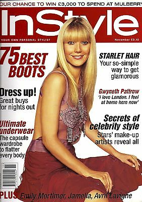 InStyle November 2004 Gwyneth Paltrow cover