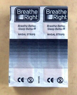 90 nasal strips Breathe Right Respir Activ Respira Mejor Respire Melhor bene