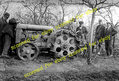 Photo - Fordson tractor, Swanley Horticultural College, Kent, 1930's