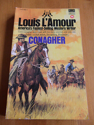 Louis L'amour - Conagher, 1973 Corgi Paperback. Very Good Condition.