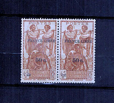1942 -2 TIMBRES/COLONIES -SOMALIS-NEUF.SANS GOMME - Yt.233 - LOT(C.5)