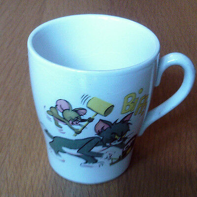 Vintage Retro Tom And Jerry Ceramic Mug