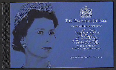 GB The Diamond Jubilee 2012 Prestige Stamp Booklet MNH DY4