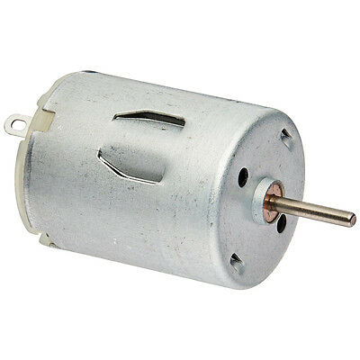 5000 RPM 6V High Torque Cylinder Magnetic Electric Mini DC Motor Silver P8T